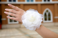 owa001 2012 The bride hair accessory hand flower,corsage hair accessory with many different colors for free shipping