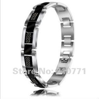 Titanium steel fashion Great Wall grain character man bracelet titanium steel bracelet,wholesale, Free shipping
