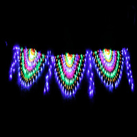 New arrival peacock lamp christmas lights string light holiday lights star lighting string lantern led decoration lighting