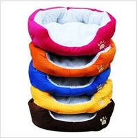 Hot-selling,Colorful Pet Cat and Dog bed & Pink,Orange,Blue,Yellow,Brown,Red, SIZE M,Free shipping