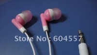 free shipping Wholesale 10pc/lot In-ear earphones headphones headsets for Mp3 MP4 MP5 PSP