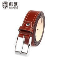 Male cowhide strap quality vintage casual strap belt spp1013