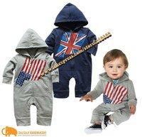 5 sets/lot baby set boy Casual spring autumn set/suit kids clothing + actual photo