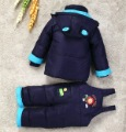 free shipping winter girls boys Child down coat male child female child down baby set children's clothing down jacket