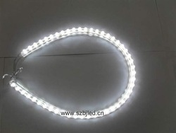 Free shipping!white 48cm 48leds Waterproof Car Decoration LED strip, Great Wall strip light, pvc strip light(China (Mainland))