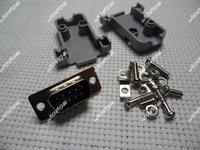 DB9 9P RS232 Serial Port Male Socket + Plastic