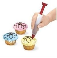 Free shipping silicone chocolate pen,the cake tools cake decoration 5pcs/lot