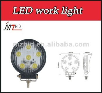 Auto led work lights 18W led headlight 1350lm led light with CE,ROHS
