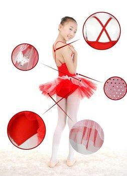 Unique Dancewear Spandex Ballet Practice/Performance Dress For Children  BQ03-5
