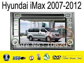"6.2"" car radip player with GPS NAVI for Hyundai iMax 2007-2012"