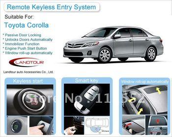RFID Keyless Remote Alarm System For Toyota Corolla