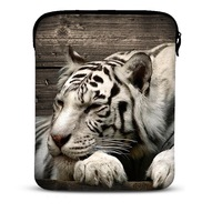 "Cool Tiger Soft Sleeve Bag Case Cover Pouch For 9.7"" Apple iPad 3,2,1/ 10.1"" Samsung Galaxy Tab Tablet PC"