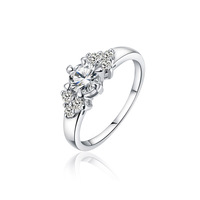 Xuping accessories zircon women's wedding  lovers finger ring