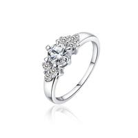 Xuping accessories zircon women's wedding  lovers finger ring