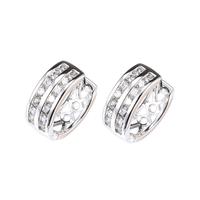 Xuping accessories gold plated zircon earrings national trend vintage ear buckle earring hoop earrings
