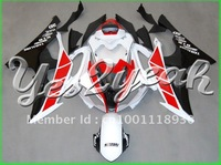 Injection fairing! Free gift with all the bolts and screws with tank cover fits for YZFR6 2008-2013 Anniversary Red Black CVFG54