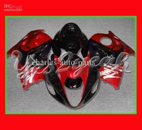 Red for SUZUKI Hayabusa GSX R1300 GSX-R1300 GSXR1300 96 97 98 99 2000 01 02 03 04 05 06 07 kit E1832