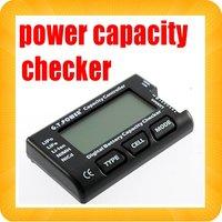 10PCS POWER Digital Battery Capacity Checker Controller Cell meter For NiCd NiMH   Li-Po,LiFeLi-lon AKKU Cellmeter-7
