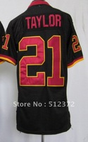 Free Shipping!!! 2012 new style jersey #21 Sean Taylor 2012 new black jersey