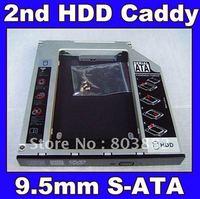 2ND HDD SSD HARD DRIVE caddy Bay for dell E series E6430 E6530 E6330