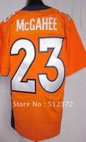 Free Shipping!!! 2012 new style jersey #23 Willis McGahee 2012 new orange jersey