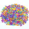 Free Shipping 2000 Pcs Random Mixed Faceted Bicone Acrylic Spacer Beads 4x4mm(W01961 X 1)