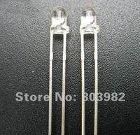 Wholesale price 3mm infrared leds 850nm ir led diodes(CCTV infrared sensor)