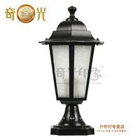 Column head wall light lamps outdoor fashion garden light lamp post waterproof led