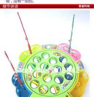 Promotion Baby Fishing Toys Fishing Game Plastic Electronic Fishing Educational Toy Free Shipping,1pcs