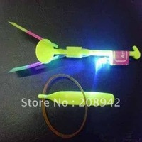 Best selling!! LED amazing arrow helicopter light up flying arrow new product new toy flying arrow Free shipping,10 pcs/lot