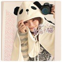 #61  christmas gift adult home panda desig carton mantle throw 165*75cm freeshipping wholesale