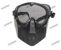 AirSoft  Face Guard Mesh Tactical Mask Goggles
