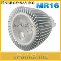 MR16 6W AC/DC 12V Energy-saving High Power Pure White LED Spotlight Lamp LED Light Bulbs for  Home Use, Free Shipping Dropship
