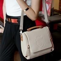 2014 high quality women's leather handbag freeshipping hot sale fashion vintage bag fashion messenger bag female