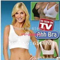 Free Shipping 350pcs/lot Top Quality Genuine Ahh Bra As Seen On TV Rhonda Shear Ahh Seamless Leisure Bra
