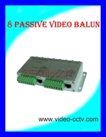 8 channel passive video balun