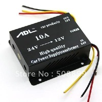 New Voltage Dropper ,Power  Regulator - 24V DC to 12V DC Converter - 10A 1PCS/LOT Free Shipping