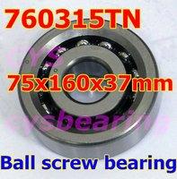 High precision 760315TN angular contact ball screw bearing P4 grade