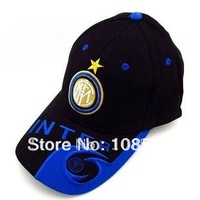 Inter Milan black adult casual cap / visor outdoor baseball cap for football  fans hat