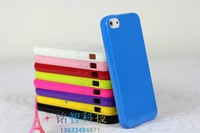 Free shipping by DHL, 2012 Hot Sale For iphone5 Case 0.5mm thin Back Cover for iphone5, Dull Polish feeling for your iphone