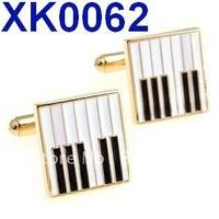 Free shipping!  Gold elegant piano key cufflinks  . Mens cufflinks   , Fun cuff links    XK0062