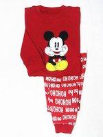 kids cotton pajamas with printed carton 6pcs/lot free shipping  wrc371711