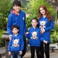 Free shipping Family fashion sweatshirt tendrils family pack mother and son clothing