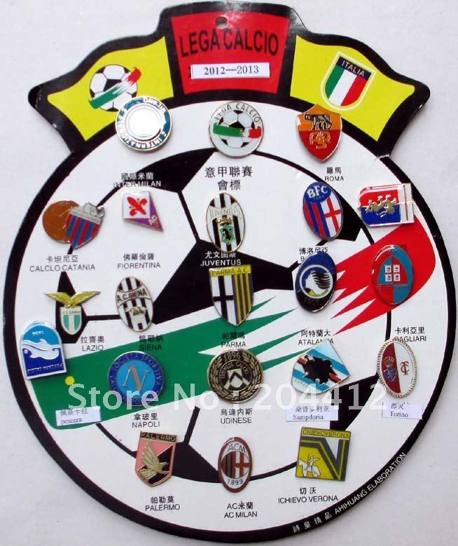 2012 2013 serie a lega calcio league italy italia soccer teams set