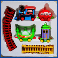 Best selling!! Plastic Toy In The Night Garden Series Ding-ding Car Free shipping,1 set