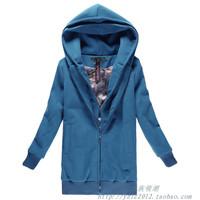 утолщение пальто средней длины пальто белого меха Шуба плюс хлопок