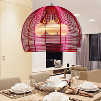 Brief modern aluminum wire pendant light lighting fashion pendant lamps
