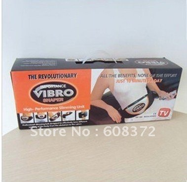 Vibro shape belt as see on tv body building products for health body shape products 1set 28USD(China (Mainland))