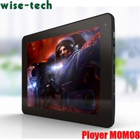 HK free shipping oem 8 inch MoMo8 Star 8GB Android 4.0 Tablet PC Allwinner A13 Cortex A8  /John