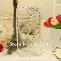 New Arrival  The Lastest  Fashion Butterfly-shaped  and  Crystal  Case  For  Iphone 5    Unique  Design / Angel Tears Case
